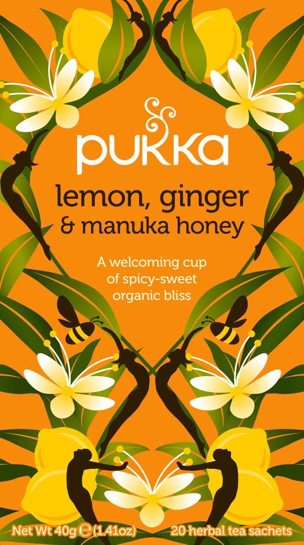 Pukka Lemon Ginger Manuka