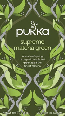 pukka Supreme-Matcha-Green