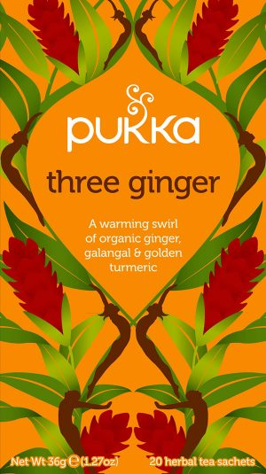 pukka three ginger ingefær te