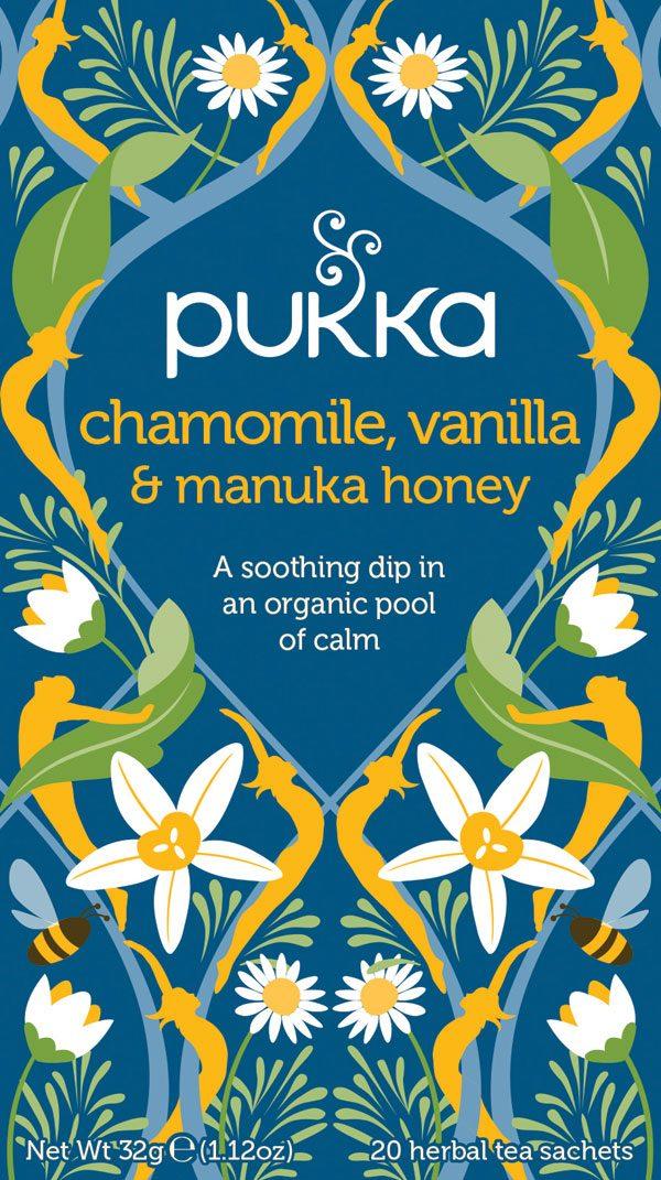 pukka Chamomile, Vanilla & Manuka honey