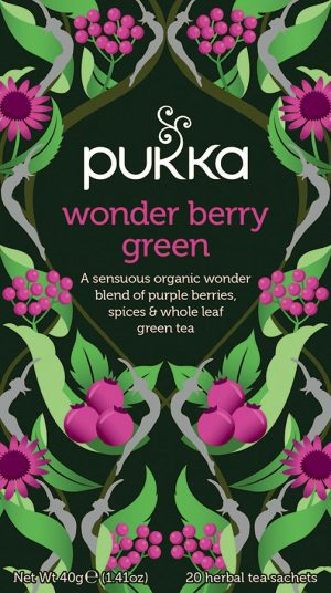 Pukka wonder berry green te