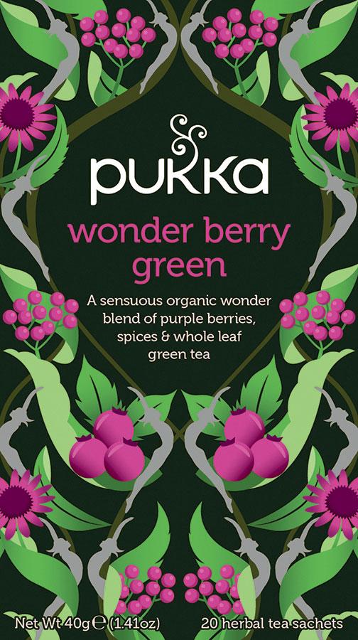 Pukka wonder berry green te
