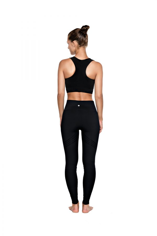R&R Bandha Bamboo Tights Beautiful Black bambus yogatights