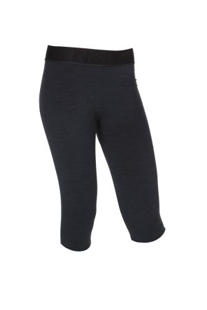 R&R Hot Yoga Capri Beautiful Black