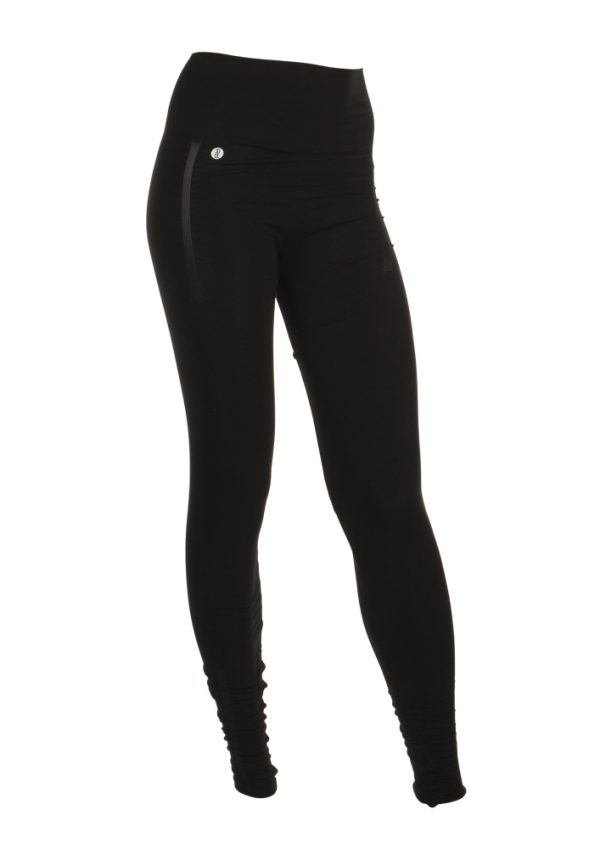 run and relax yoga tights black