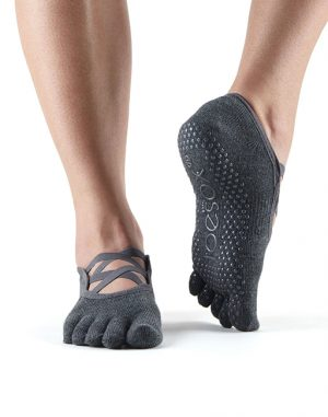 Toesox Elle charcoal grey