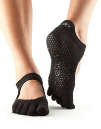 toesox bellarina black