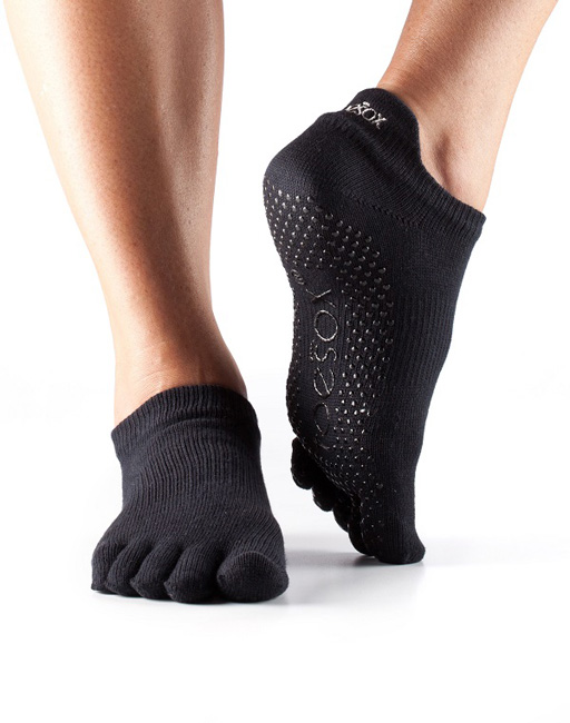 low rise toesox black
