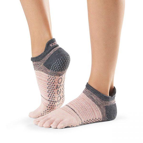 toesox full toe low rise flurry