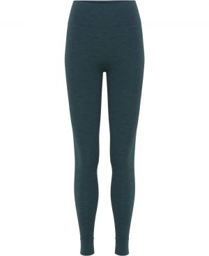moonchild seamless leggings forest green