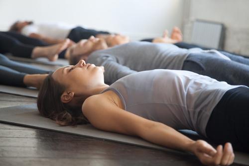 afspænding og meditation krispilates