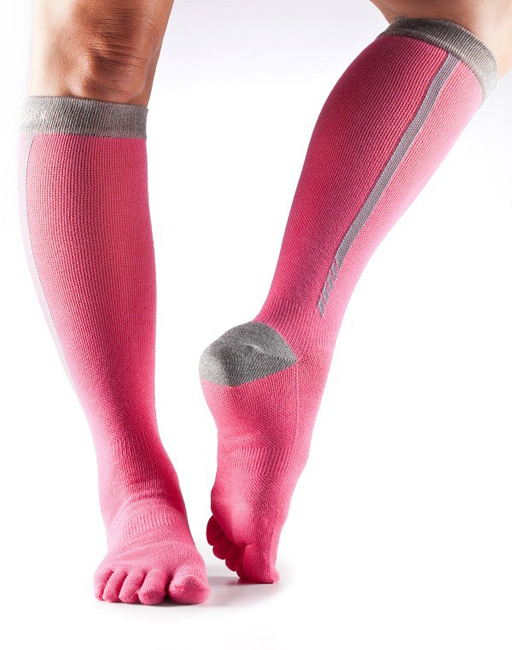toesox kompression flush pink