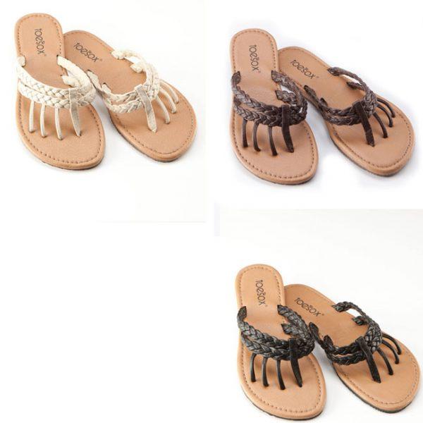 toesox mazzy sandal