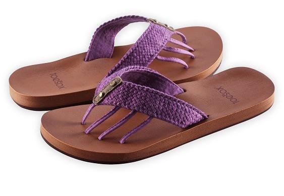 toesox sandal vida_acai