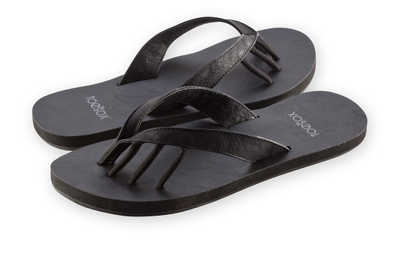 toesox sandal maya black