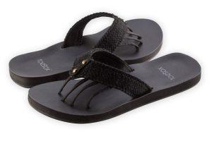 toesox sandal vida black