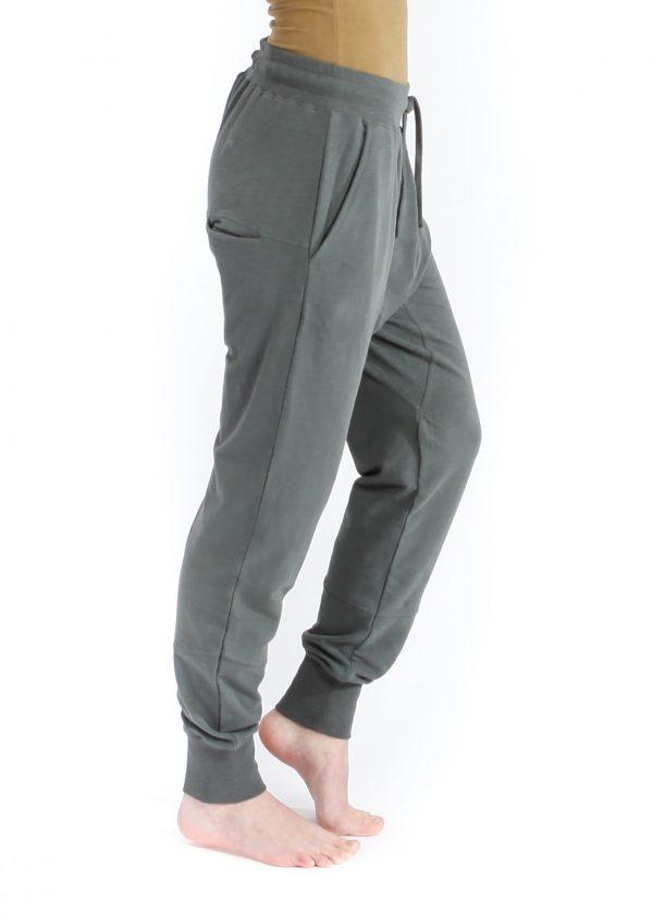 mudra pants yogamii petrol grey