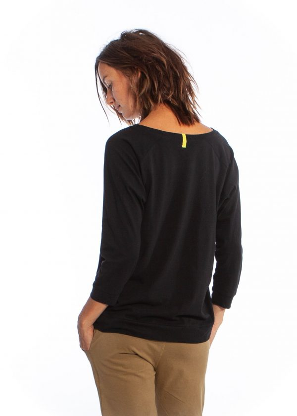 mukha blouse--black