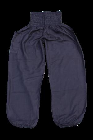 bohemian island black harems pants
