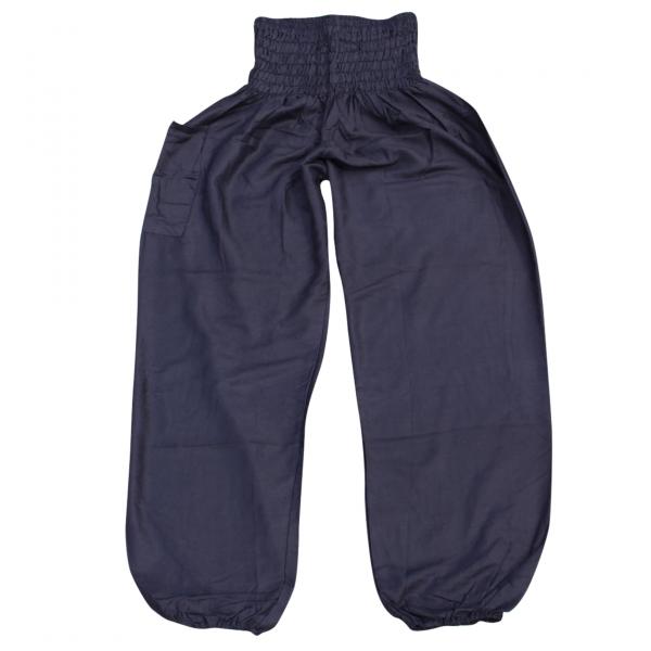 bohemian island harems pants black
