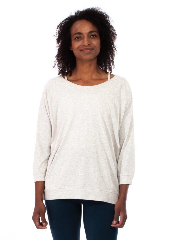 yogamii mukha blouse off white