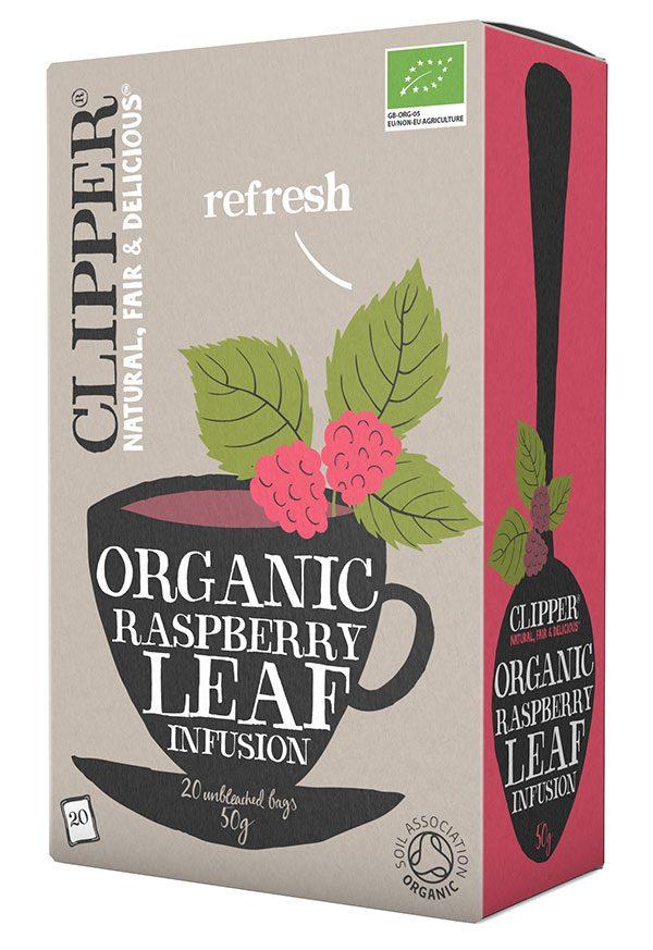 hinbærblad te clipper