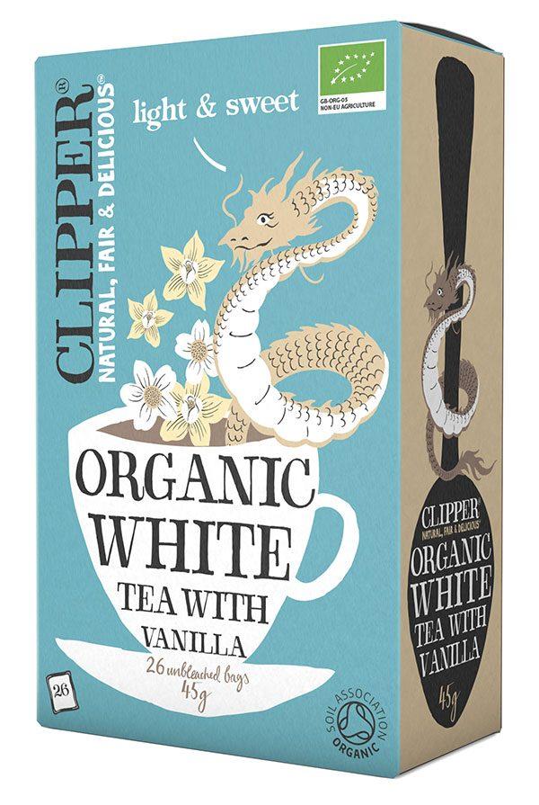 clipper hvid te med vanilje