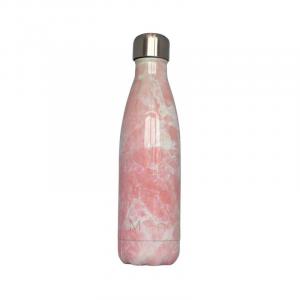 miin bottle pink marmor