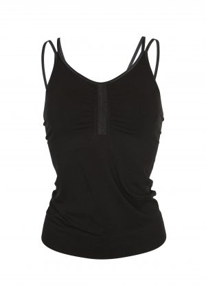 R&R Anjali Yoga Top Beautiful Black