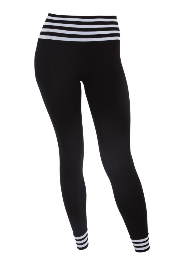 Run&relax Bamboo Stripe tights