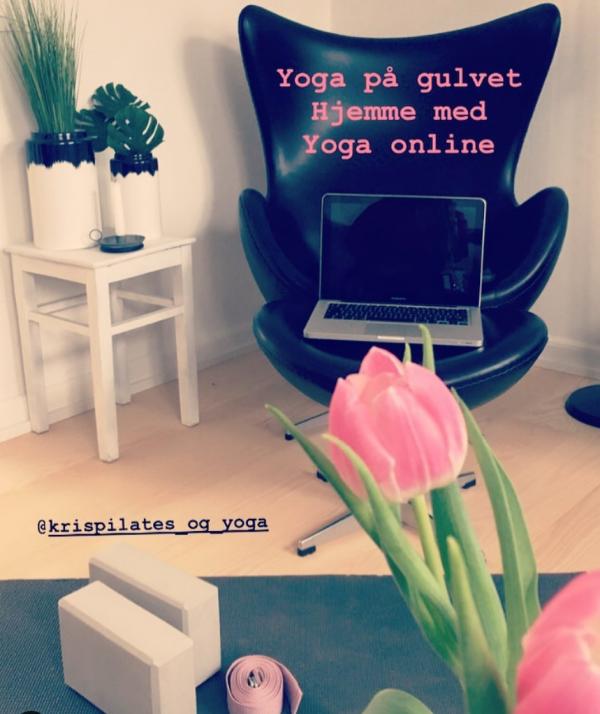 online krispilates og yoga