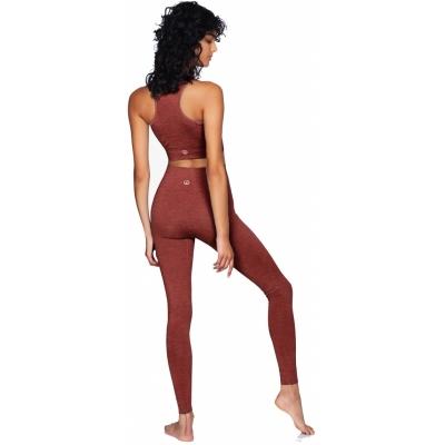 moonchild seamless leggings marsala