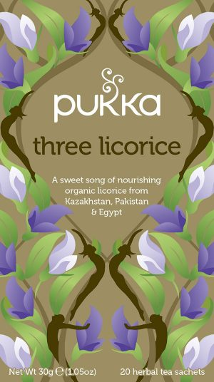 three licorice pukka