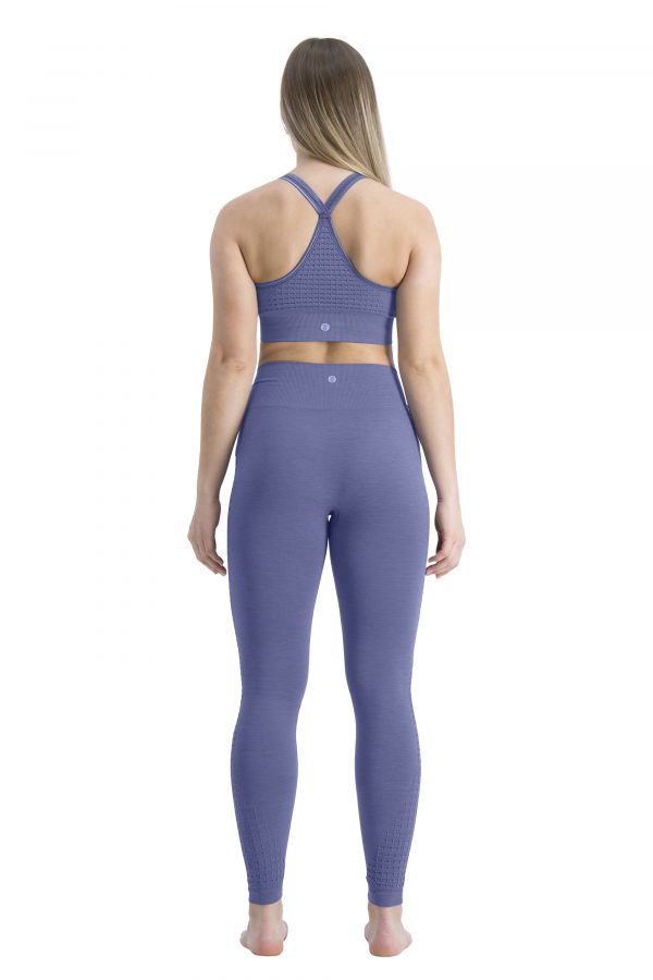 run&relax honeycomb bra cloudy blue