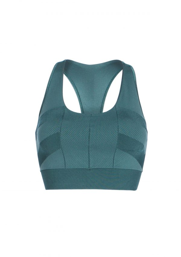 R&R Lola Padded Bra Dark Sea Green