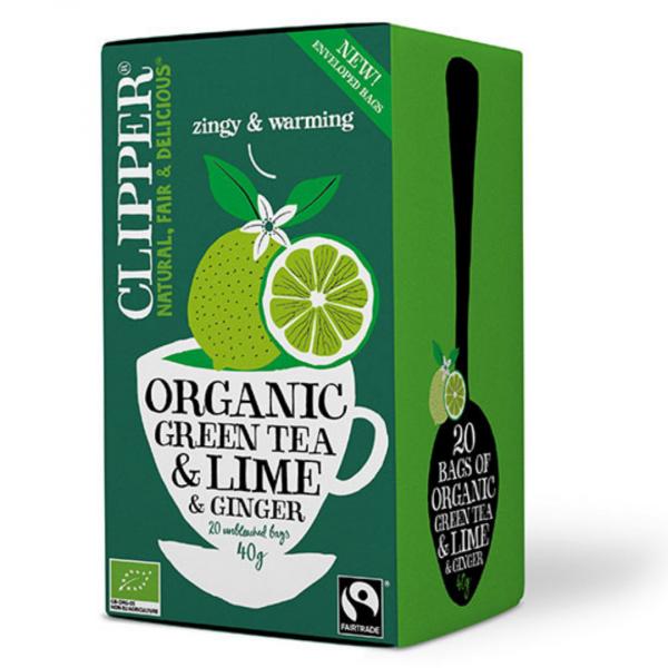 grøn te clipper