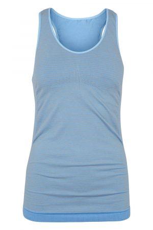 Beluga Classic Top Bra - Front - Placid Blue:Stripe
