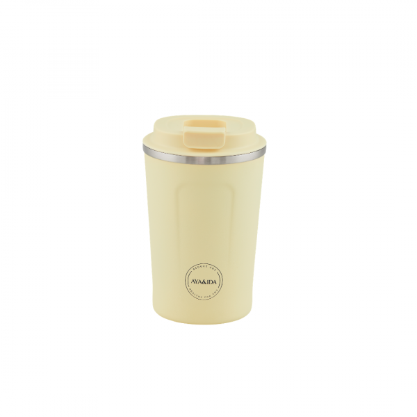 ayaida cup2go 380 ml butter yellow