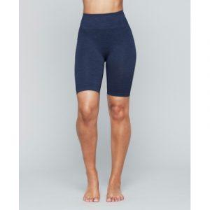 Seamless Biker Shorts- Aura Blue