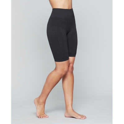 Seamless Biker Shorts - Onyx black