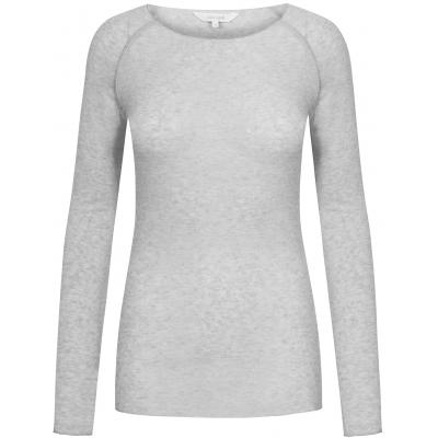Amalie wool top Light grey
