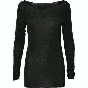 Amalie wool top dark grey
