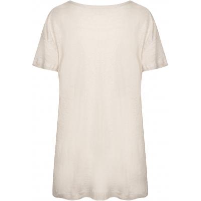 Bertha Linnen oversize t-shirt Moonstruck back