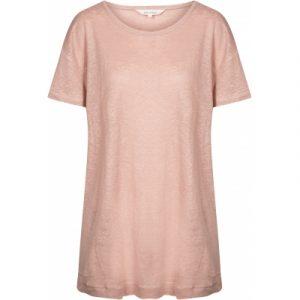 Bertha Linnen t-shirt faded rose