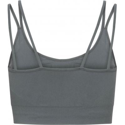 Sukha yoga top petrol grey