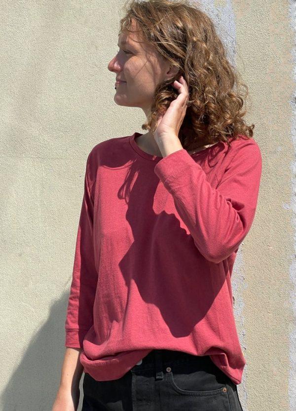 Yogamii Mukha blouse surya red