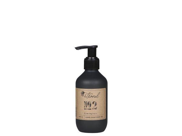 éternel hand sanitiser gel 2 lemongrass