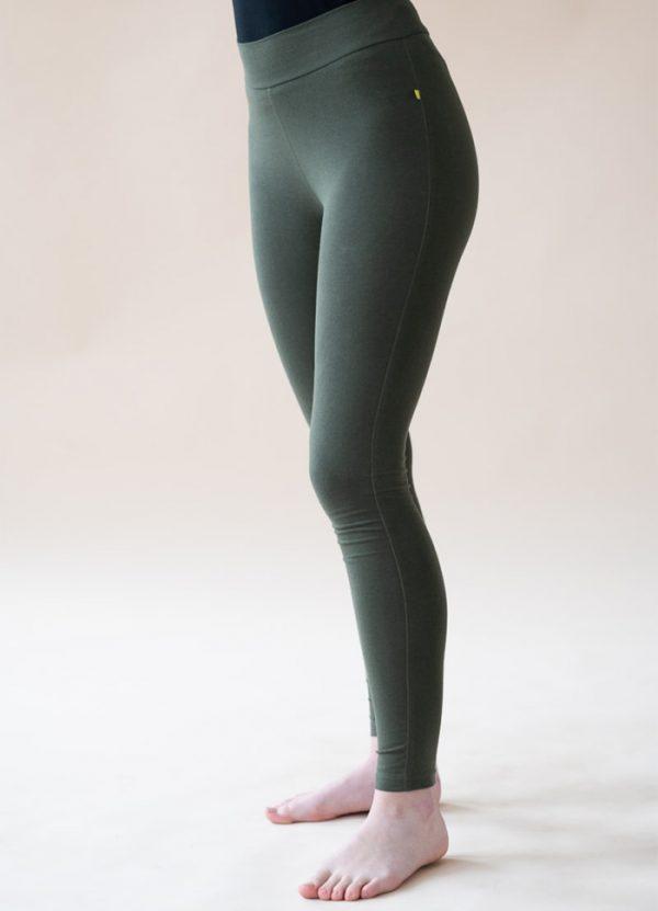 yogamii lilly leggings dark olive